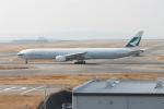 職業旅人さんが、関西国際空港で撮影したキャセイパシフィック航空 777-367の航空フォト(写真)