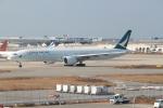 職業旅人さんが、関西国際空港で撮影したキャセイパシフィック航空 777-367/ERの航空フォト(写真)
