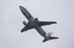 ハピネスさんが、関西国際空港で撮影した日本トランスオーシャン航空 737-4Q3の航空フォト(飛行機 写真・画像)