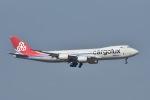 てんどんさんが、香港国際空港で撮影したカーゴルクス 747-8R7F/SCDの航空フォト(写真)