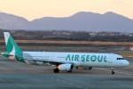 takaRJNSさんが、静岡空港で撮影したエアソウル A321-231の航空フォト(写真)
