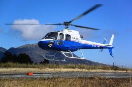はるかのパパさんが、芦ノ湖ヘリポートで撮影した東邦航空 AS350B Ecureuilの航空フォト(飛行機 写真・画像)
