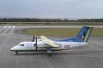 プルシアンブルーさんが、多良間空港で撮影した琉球エアーコミューター DHC-8-103Q Dash 8の航空フォト(写真)
