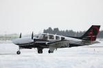 ATOMさんが、帯広空港で撮影した日本法人所有 G58 Baronの航空フォト(写真)