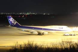 プルシアンブルーさんが、福島空港で撮影した全日空 747-481(D)の航空フォト(飛行機 写真・画像)