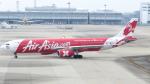 誘喜さんが、関西国際空港で撮影したエアアジア・エックス A330-343Xの航空フォト(写真)