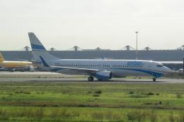 panchiさんが、レオナルド・ダ・ヴィンチ国際空港で撮影したエンターエア 737-8Q8の航空フォト(飛行機 写真・画像)