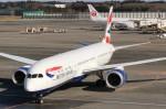 れえどんさんが、成田国際空港で撮影したブリティッシュ・エアウェイズ 787-9の航空フォト(写真)