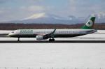 北の熊さんが、新千歳空港で撮影したエバー航空 A321-211の航空フォト(写真)