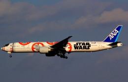T.Kenさんが、成田国際空港で撮影した全日空 777-381/ERの航空フォト(飛行機 写真・画像)