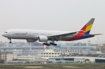 Kuuさんが、福岡空港で撮影したアシアナ航空 777-28E/ERの航空フォト(写真)