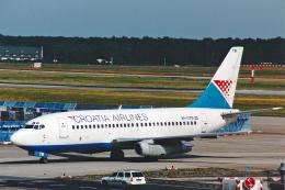 菊池 正人さんが、フランクフルト国際空港で撮影したクロアチア航空 737-230/Advの航空フォト(飛行機 写真・画像)