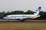 kinsanさんが、アジスチプト国際空港で撮影したエクスプレス・エア 737-284/Advの航空フォト(写真)
