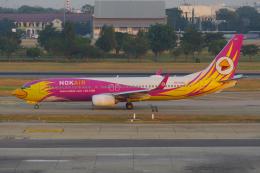 PASSENGERさんが、ドンムアン空港で撮影したノックエア 737-86Nの航空フォト(飛行機 写真・画像)