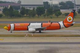 PASSENGERさんが、ドンムアン空港で撮影したノックエア 737-83Nの航空フォト(飛行機 写真・画像)