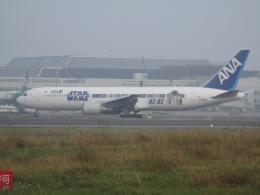 sinoharaizumiさんが、台湾桃園国際空港で撮影した全日空 767-381/ERの航空フォト(飛行機 写真・画像)