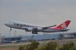 空が大好き!さんが、台湾桃園国際空港で撮影したカーゴルクス 747-4R7F/SCDの航空フォト(写真)