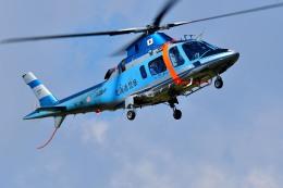 Dojalanaさんが、函館空港で撮影した北海道警察 A109E Powerの航空フォト(飛行機 写真・画像)