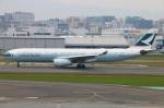 Kuuさんが、福岡空港で撮影したキャセイパシフィック航空 A330-343Xの航空フォト(写真)