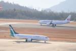 anagumaさんが、広島空港で撮影したシルクエア 737-8SAの航空フォト(写真)