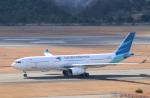 anagumaさんが、広島空港で撮影したガルーダ・インドネシア航空 A330-341の航空フォト(写真)