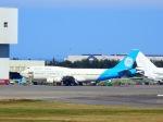 世界への青い翼(KIX-TSA)さんが、台湾桃園国際空港で撮影したゼネラル・エレクトリック 747-446の航空フォト(写真)