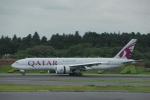 Izumixさんが、成田国際空港で撮影したカタール航空 777-2DZ/LRの航空フォト(写真)