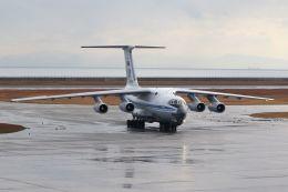 ジェットジャンボさんが、山口宇部空港で撮影したロシア空軍 Il-76MDの航空フォト(飛行機 写真・画像)