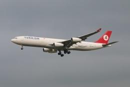 turt@かめちゃんさんが、台湾桃園国際空港で撮影したターキッシュ・エアラインズ A340-313Xの航空フォト(写真)