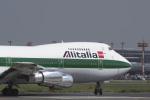 senyoさんが、成田国際空港で撮影したアリタリア航空 747-243Bの航空フォト(写真)