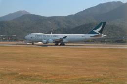 シフォンさんが、香港国際空港で撮影したキャセイパシフィック航空 747-467F/ER/SCDの航空フォト(写真)