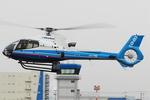 Chofu Spotter Ariaさんが、東京ヘリポートで撮影したミネベア- Minebea EC130B4の航空フォト(飛行機 写真・画像)