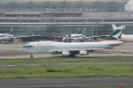 anagumaさんが、羽田空港で撮影したキャセイパシフィック航空 747-467の航空フォト(写真)