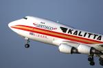 LAX Spotterさんが、ロサンゼルス国際空港で撮影したカリッタ エア 747-481F/SCDの航空フォト(写真)