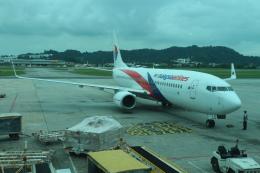 シフォンさんが、ペナン国際空港で撮影したマレーシア航空 737-8H6の航空フォト(写真)