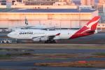 kinsanさんが、羽田空港で撮影したカンタス航空 747-438の航空フォト(写真)