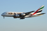 Jason Pengさんが、台湾桃園国際空港で撮影したエミレーツ航空 A380-861の航空フォト(写真)