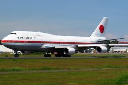 Gujirinkaさんが、フランシスコ・バンゴイ国際空港で撮影した航空自衛隊 747-47Cの航空フォト(飛行機 写真・画像)