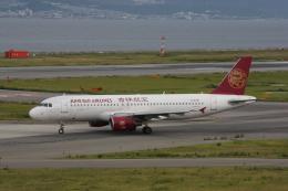 Cassiopeia737さんが、関西国際空港で撮影した吉祥航空 A320-214の航空フォト(飛行機 写真・画像)