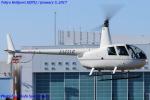 Chofu Spotter Ariaさんが、東京ヘリポートで撮影した日本個人所有 R44 Clipperの航空フォト(写真)