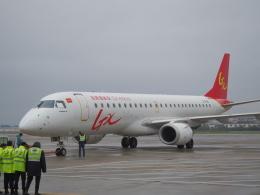 JA8037さんが、恵州空港で撮影したGXエアラインズ ERJ-190-100 LR (ERJ-190LR)の航空フォト(飛行機 写真・画像)