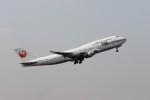 もぐ3さんが、成田国際空港で撮影した日本航空 747-446の航空フォト(写真)