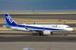 zettaishinさんが、羽田空港で撮影した全日空 A320-271Nの航空フォト(飛行機 写真・画像)