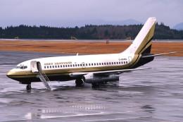 サンドバンクさんが、鹿児島空港で撮影した香港ドラゴン航空 737-2Q8/Advの航空フォト(飛行機 写真・画像)