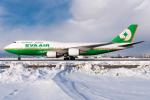 うまやどのおいるさんが、新千歳空港で撮影したエバー航空 747-45Eの航空フォト(写真)