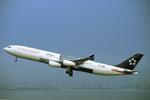 WING_ACEさんが、関西国際空港で撮影したエア・カナダ A340-313Xの航空フォト(飛行機 写真・画像)