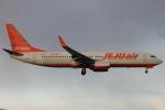 スターアライアンスKMJ まいやんさんが、福岡空港で撮影したチェジュ航空 737-8ASの航空フォト(飛行機 写真・画像)