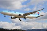 スターアライアンスKMJ まいやんさんが、福岡空港で撮影した大韓航空 A330-322の航空フォト(写真)