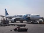 ken1☆MYJさんが、カイロ国際空港で撮影したエジプト航空 A330-243の航空フォト(写真)