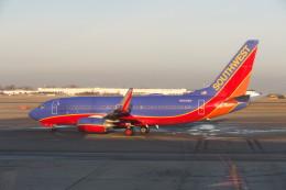 KKiSMさんが、バッファロー・ナイアガラ国際空港で撮影したサウスウェスト航空 737-7H4の航空フォト(飛行機 写真・画像)